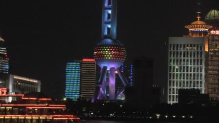 上海浦江两岸的日夜星辰, 是中秋旅游的好去处
