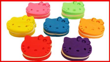 北美玩具 第一季 可爱凯蒂猫饼干玩具!培乐多彩泥儿童手工