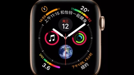 国外数码博主体验Applewatch4