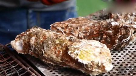 日本街头食品 生蚝、扇贝, 海鲜大聚会