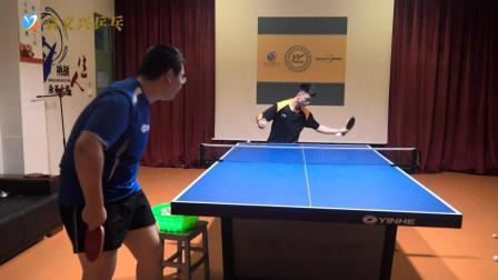 乒乓球接发球汇总3: 接外侧旋球方法汇总, 专业球员演示值得一学