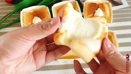 北海道戚风蛋糕, 颜值蛋糕典范, 偷偷送给最爱的人, 惊喜浪漫
