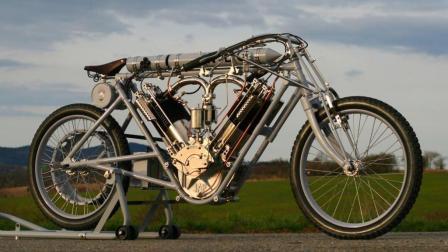 牛人自制混合动力自行车, 不用蹬就能跑, 简直太
