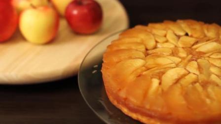 教你超独特的苹果蛋糕做法, 不加牛奶, 酸甜可口吃不够