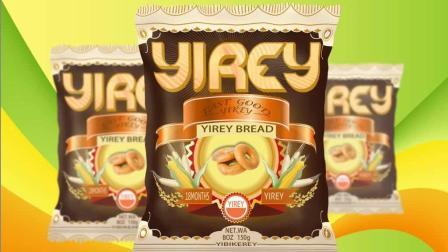 Photoshop膨化食品包装袋设计