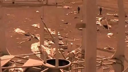 红色星球: 飞船迫降火星  氧气, 食物等物资受损生存成为问题