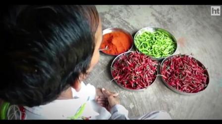 印度的开挂牛人, 一天不吃几斤辣椒浑身不舒服