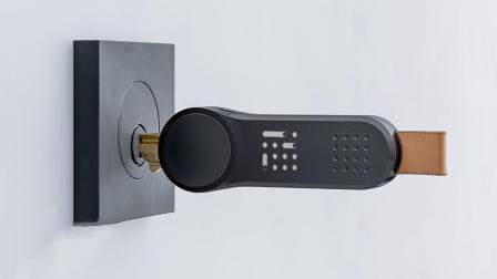 新奇的智能钥匙壳, 能让普通钥匙变聪明, 再也不会忘锁门