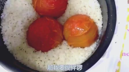 日本吃货木下佑香, 电饭煲番茄饭吃播, 网友: 我也想试试!