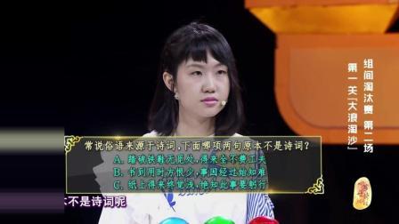 中华好诗词大学季 第二季 《中华好诗词》 史上最短《大浪淘沙》