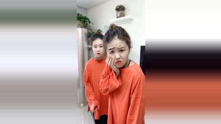 最搞笑的双胞胎姐妹, 简单的几个动作, 就把人逗