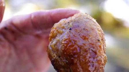 炸全鸡做好吃嘴正宗的做法是这样