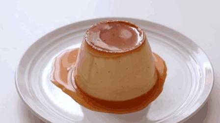 香滑细腻的焦糖香草奶油布丁, 新手也能轻松上手的甜点