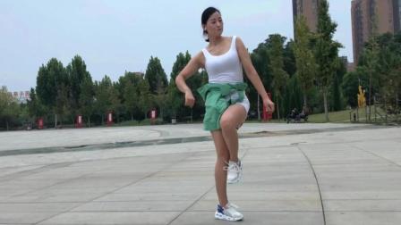 零基础36步鬼步舞《DJ夜色》青青世界广场舞