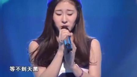 女生一开口, 那英以为邓紫棋来中国好声音, 四位导师都转身了