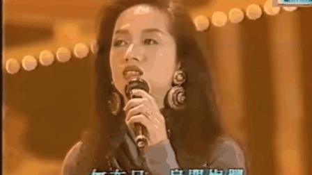 梅艳芳《夕阳之歌》现场版, 梅姐唱功这个时期太强了, 和CD标准一样!