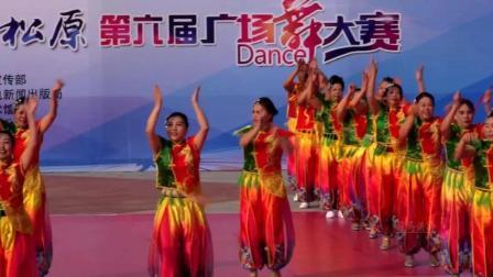 吉林省松原市琴岛快乐健身队中国美广场舞-舞动东北原创舞蹈视频正式篇540