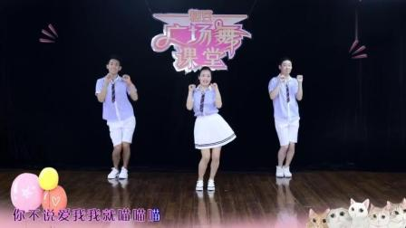 小清新抖音最火歌曲广场舞《学猫叫》