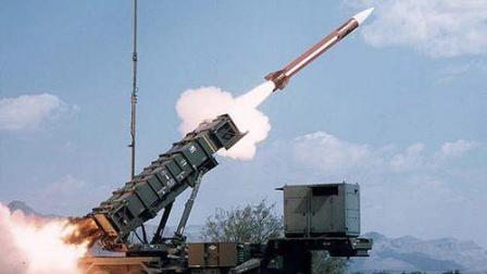 美国MIM-104爱国者防空导弹大规模实弹发射高清视频HD1080P
