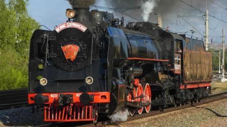 上机车转盘的FD型蒸汽机车, 你见过吗?