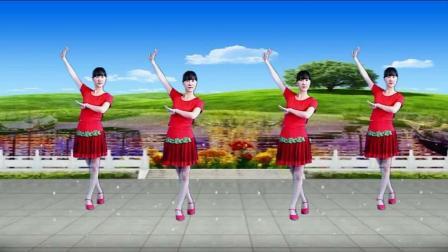 阳光广场舞《北江美》32步, 简单易学!