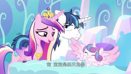 《小马宝莉》一出生就是天角兽! 紫悦的侄女