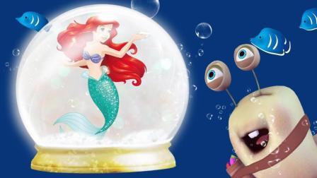 超人气DIY玩具 美人鱼魔法水晶球