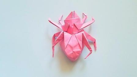 折纸王子折纸蜘蛛, 小朋友很喜欢的手工
