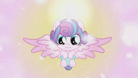 《小马宝莉》小天角兽, 小马们变成了水晶小马!