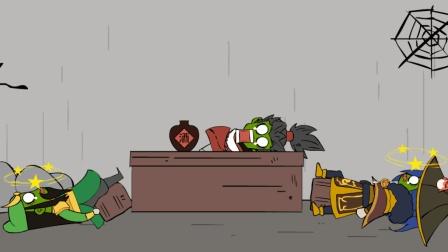 王者荣耀搞笑小动画: 三兄弟接二连三被坑, 遭霉