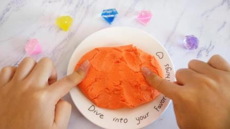 超简单自制纸粘土教程, 无胶水无硼砂, 玩起来像非牛顿流体