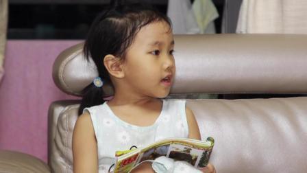 爆笑父女: 女儿用四个字向爸爸展示了, 汉语如此博大精深!