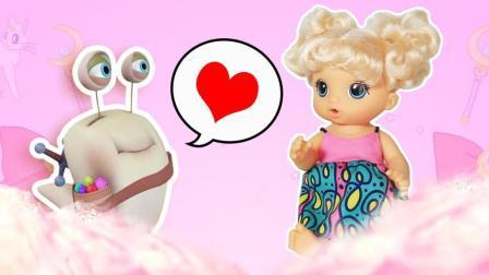 会互动的芭比宝宝 爱心养成玩具