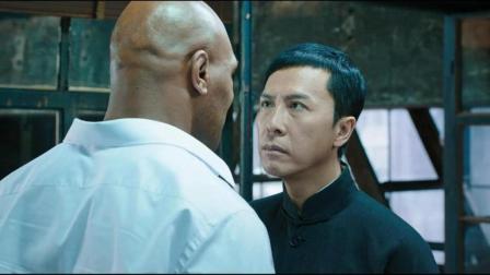 叶问单挑泰森! 最后谁赢了? 网友表示: 只有李小龙能赢泰森