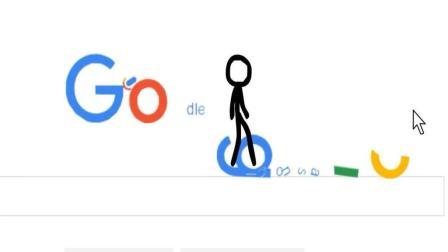 外国小伙创造的火柴人, 把谷歌的网页都毁了