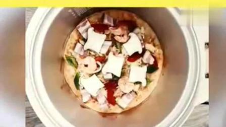 用电饭锅能做披萨? 星级厨师看了都觉得不可思议!