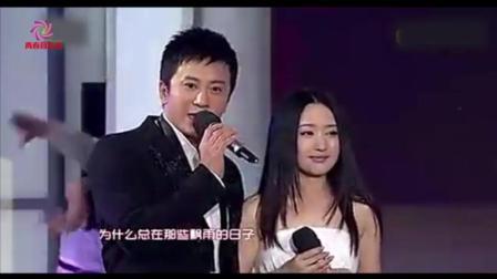 春晚演唱的歌曲, 一男一女把这首歌完全唱火了! 毛宁与杨钰莹合唱《心雨》情感演绎的很到位