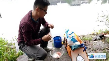 野河钓鱼用这样的饵料配方, 十分钟开始上鱼