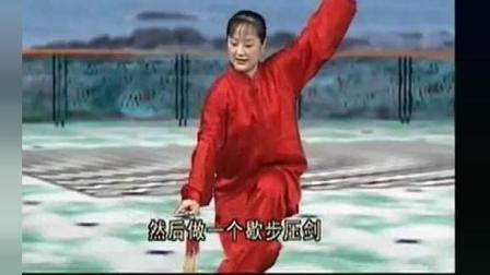 吴阿敏42式太极剑(完整牌)_高清