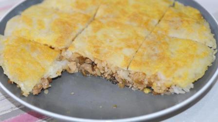 湖北著名小吃三鲜豆皮, 在家也能轻松做, 好吃的不要不要的