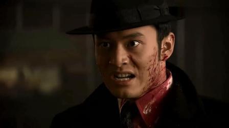 许文强为救兄弟杀红眼, 不成想被壮汉当成小鸡子