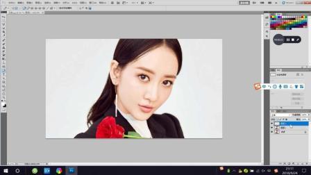 Photoshop, PS教程教学, 制作分割照片边框效果