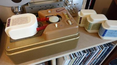1957年德国音乐播放器多先进? 老外拆开后看才知道机械结构多精密