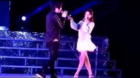 徐良和小凌同台演唱《客官不可以》, 满满都是