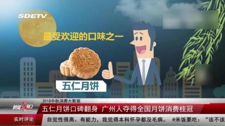五仁月饼口碑翻身 广州人夺得全国月饼消费桂冠