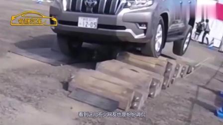 丰田霸道四驱为什么卖的这么贵, 测试一下就知道了