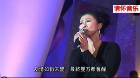 继老公林子祥后叶倩文也拿到金针奖, 宝刀未老的她在台上连唱了好几首经典歌曲