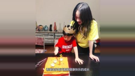 杜江为嗯哼过生日! 霍思燕素颜出镜, 蛋糕价格成了关注点!