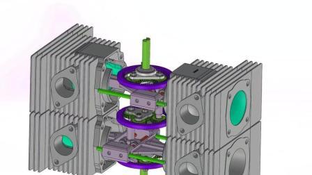 你知道无曲轴的四缸内燃机是怎么设计的吗?
