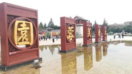 航拍陕西西安赫赫有名的景点大唐芙蓉园, 你说120元的门票值不值